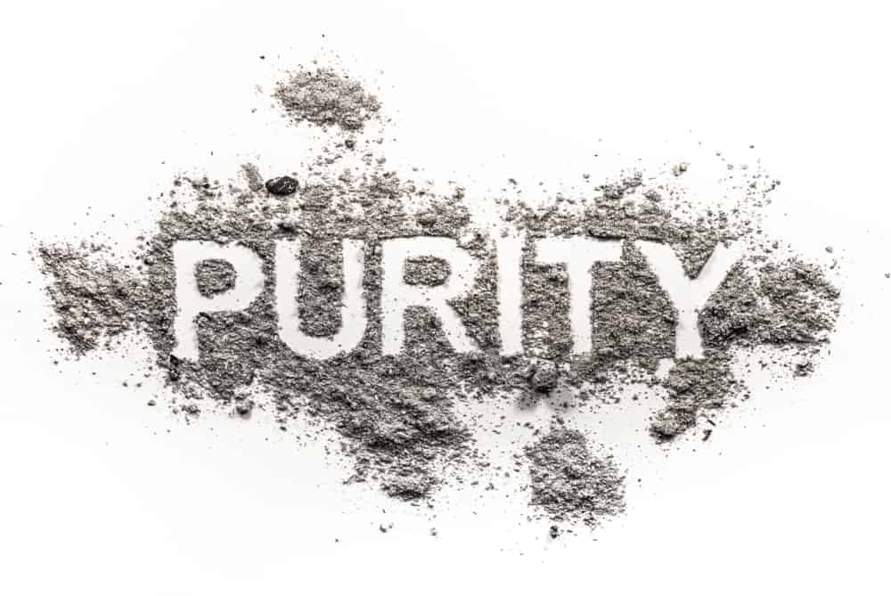 Different grades of chemicals have different levels of purity