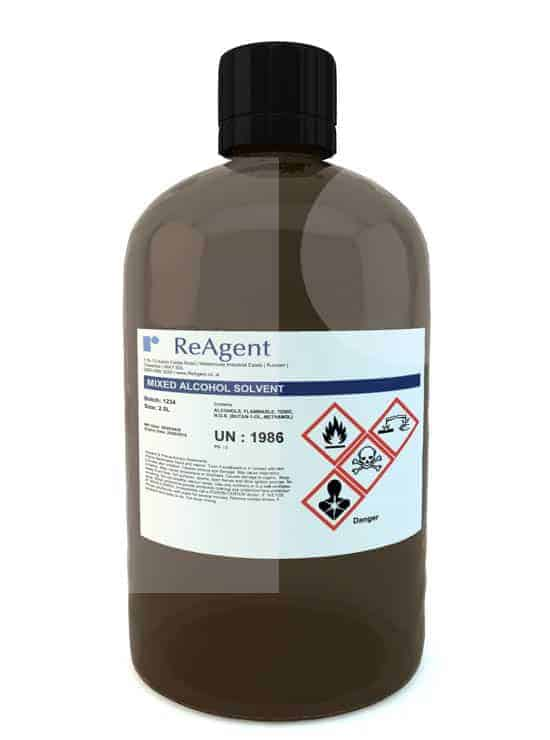 Mixed Alcohol Solvent 2.5L packsize 1