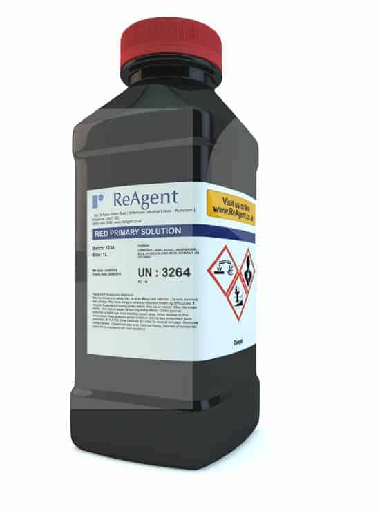 Red Colour Primary Solution to BP A46 1L packsize 1